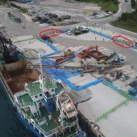 9月28日(火)、本部塩川港のベルトコンベア設置許可問題について、北部土木事務所と11回目の交渉!(質問事項全文掲載)