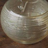今年の新作ガラス花器