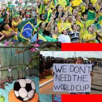 サッカーの応援に全てをかける人々と、平和への戦いに全てをかける人々