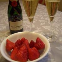 シャンパンと合う食事は・・