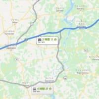 アメリカ横断 ナッシュビル Nashville → メンフィス Memphis 移動距離340キロ