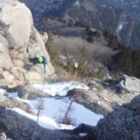 個人講習 雪山アルパインクライミング講習 鈴鹿 御在所岳周辺エリア