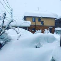 記録的な大雪