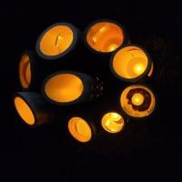 「3.11鎮魂の竹灯籠」