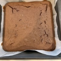 ボウルひとつでブラウニーのようなケーキ