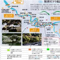 保津川下りコースの地質