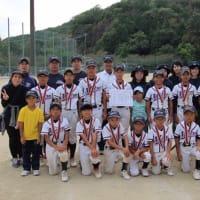 近県少年野球井原大会の結果お知らせします。