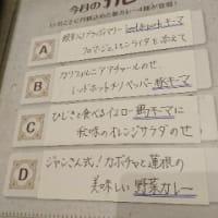 旧ヤム鐵道  /  10月のカレー4種