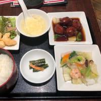 甘酢団子定食
