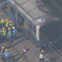 名鉄特急に乗用車で「当て逃げ」38歳会社員逮捕名古屋・南区
