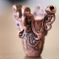 縄文土器オブジェ(水煙文土器/ 659-178)