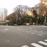 山手線新宿駅(西新宿二丁目 区民センター前交差点)