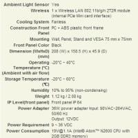 産業用パネルPC AFL2-W07A-N26