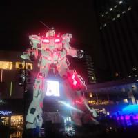 田中商店 ダイバーシティ東京プラザ店/豚骨ラーメンとLIVEとガンダムと@台場