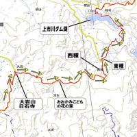富山県道67号宇奈月大沢野線より⑧「上市町大岩山」から「上市川ダム」の紹介