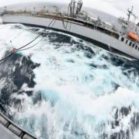 ☆インド主催のマラバール21フェーズ2 日米印豪のQUAD大艦隊画像