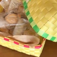 パン持ってお出かけ くるみパン