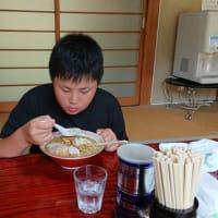 大島の岩前戸商店でラーメン食べてきた