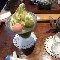 べっぴん抹茶ゼリーパフェ&季節限定茶「カフェソラーレ ツムギ」