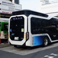 """新世代の燃料電池バス、トヨタ自動車製""""SORA""""(都営バス)を見る"""