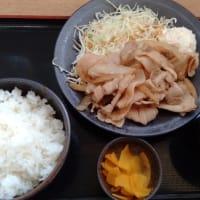 みのり生姜焼き定食