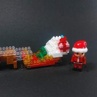 ナノ☆ダイヤ ナノブロック クリスマスの夜