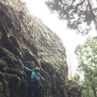 日和田山・岩場トレ-ニング