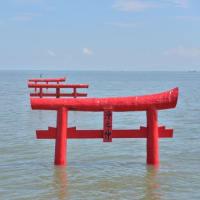 大魚神社海中鳥居【佐賀県太良町】