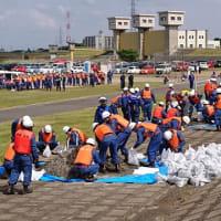 AED講習&水防、防災訓練