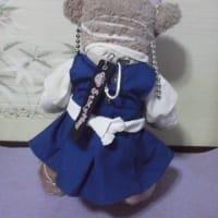 メイちゃんの スウェーデン民族衣装風のお洋服ができました