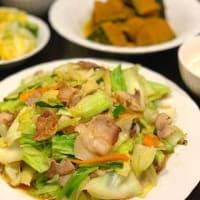 豚バラとキャベツの中華炒め