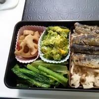 師走に駆け出す、しっかり弁当・なめたけを使った簡単炊き込みご飯