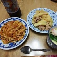 頂き物と夕飯