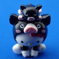 ご当地キティ 596 鹿児島 黒豚 Kagoshima Black Pig