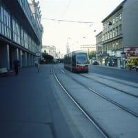 ウィーン市内を走るLRVとLRT(15年前に撮影した)