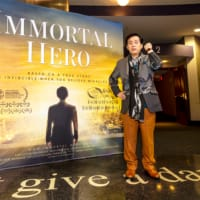 Immortal Hero executive producer Ryuho Okawa・・・ visited Cineplex Cinemas ・・on October 3