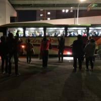 高校生バスが長野へ出発しました!!