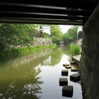 滋賀県  近江八幡 八幡堀の辺りを歩く。     (6景)