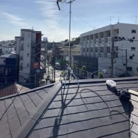 横浜市南区六ッ川にてUHFアンテナ工事