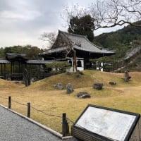 京の冬の旅 高台寺 秀吉公とねね像