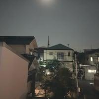 少し古いですが、中秋の名月、翌日の写真です。