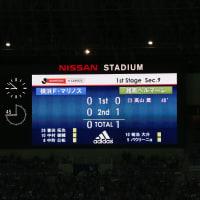 待望の勝ち点「3」、横浜FM戦