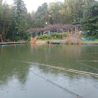 芦田湖水光園に行ってきた。暴風でしたよね。