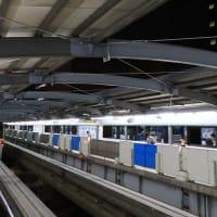 東京モノレールから見える「大井競馬場」 (2019年8月 東京旅)