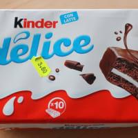 イタリアのお菓子 キンダーデリス(Kinder delice)