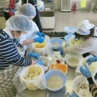 かぶらの収穫とかぶら寿司づくり体験