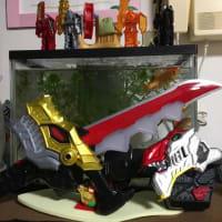 金魚の水槽の写真