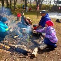 森の中のデイキャンプ~ぶなの森の春キャンプ2日目