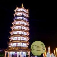蘇州 夜の周庄古鎮