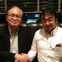 ◆2015年9月7日、知財戦略の第一人者、東京大学の小川紘一先生にお会いしてきました。